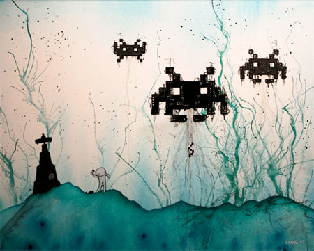 Space Invaders Apocalypse